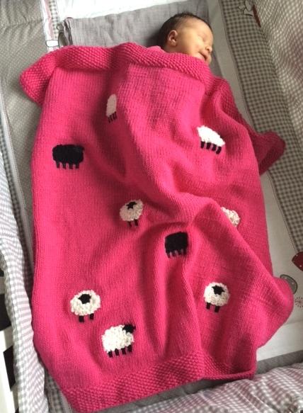 Nieuw Breipakket Baby Deken