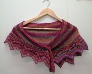 Le weekend shawlette 1