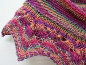 Le weekend shawlette 3